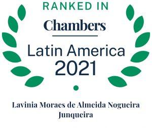 Lavinia Junqueira é reconhecida em selo da Chambers