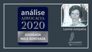 J Legal Team and Lavinia Junqueira are recognized in Análise 500 2020 and Best Lawyers 2021