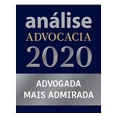 Análise Advocacia 2020 – Advogada mais admirada