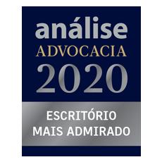Análise Advocacia 2020 – Escritório mais admirado