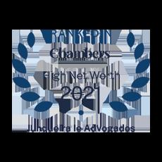 Ranked In Chambers – High Net  Worth 2021