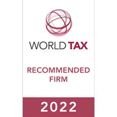 World Tax – Recommended Firm 2022